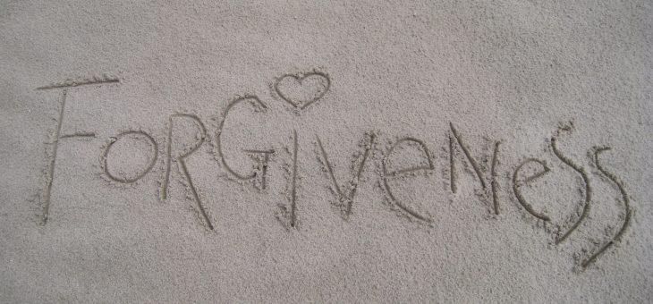 Rituales de perdón. Cartas de perdón