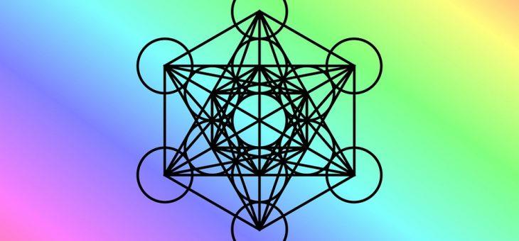 El Cubo de Metatrón. La Geometría que  materializa